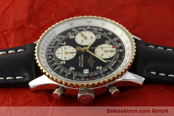 Used luxury watch Breitling Navitimer chronograph steel / gold automatic Kal. B13 ETA 7750 Ref. D13022  | 151092 05