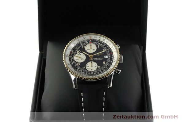 Used luxury watch Breitling Navitimer chronograph steel / gold automatic Kal. B13 ETA 7750 Ref. D13022  | 151092 07