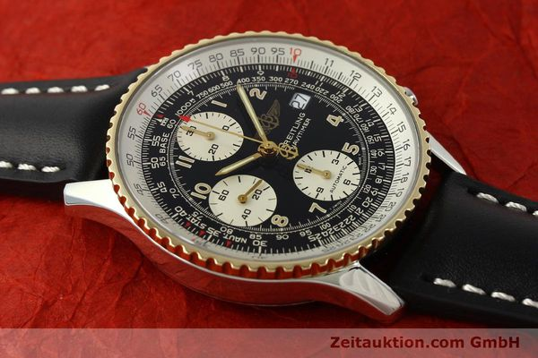 Used luxury watch Breitling Navitimer chronograph steel / gold automatic Kal. B13 ETA 7750 Ref. D13022  | 151092 13