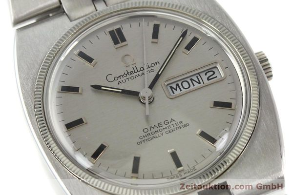 Used luxury watch Omega Constellation steel automatic Kal. 751 Ref. 168.045, 368.845  | 151093 02