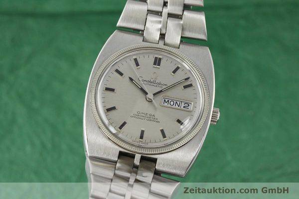 Used luxury watch Omega Constellation steel automatic Kal. 751 Ref. 168.045, 368.845  | 151093 04
