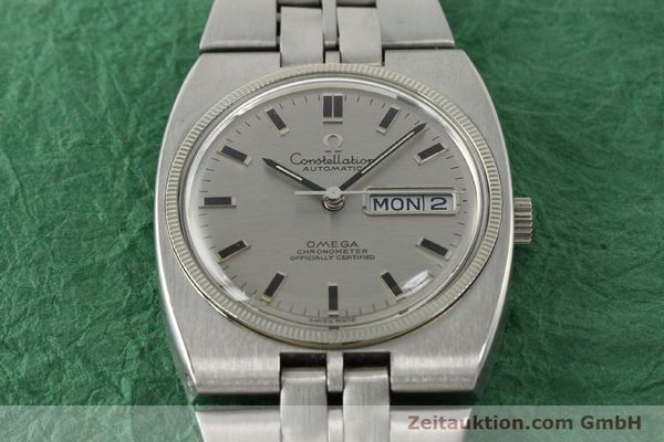 Used luxury watch Omega Constellation steel automatic Kal. 751 Ref. 168.045, 368.845  | 151093 15