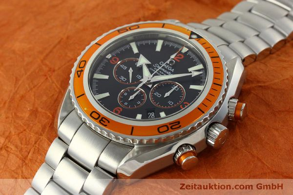 Used luxury watch Omega Seamaster chronograph steel automatic Kal. 3313 Ref. 22185000  | 151101 01