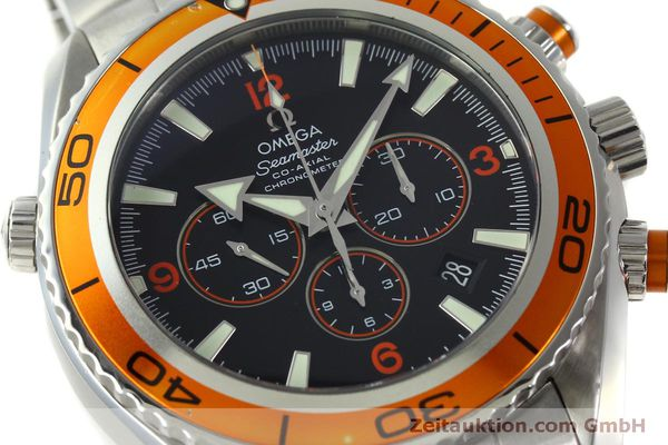 Used luxury watch Omega Seamaster chronograph steel automatic Kal. 3313 Ref. 22185000  | 151101 02