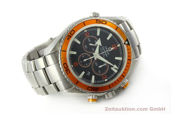 Used luxury watch Omega Seamaster chronograph steel automatic Kal. 3313 Ref. 22185000  | 151101 03