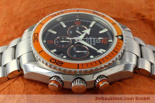 Used luxury watch Omega Seamaster chronograph steel automatic Kal. 3313 Ref. 22185000  | 151101 05
