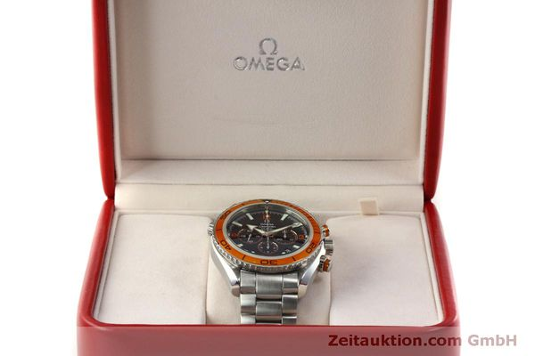 Used luxury watch Omega Seamaster chronograph steel automatic Kal. 3313 Ref. 22185000  | 151101 07