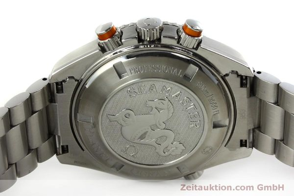 Used luxury watch Omega Seamaster chronograph steel automatic Kal. 3313 Ref. 22185000  | 151101 09