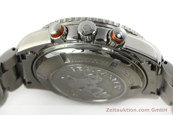 Used luxury watch Omega Seamaster chronograph steel automatic Kal. 3313 Ref. 22185000  | 151101 12