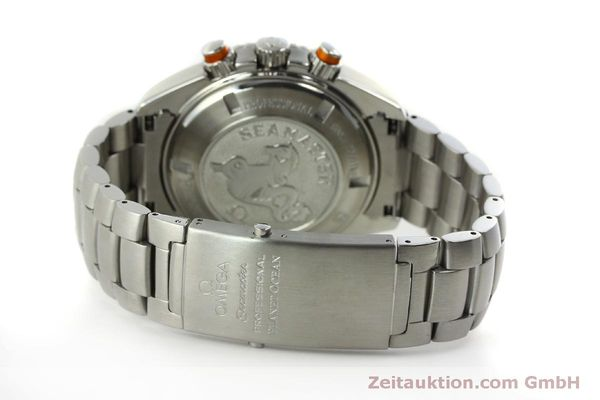 Used luxury watch Omega Seamaster chronograph steel automatic Kal. 3313 Ref. 22185000  | 151101 14