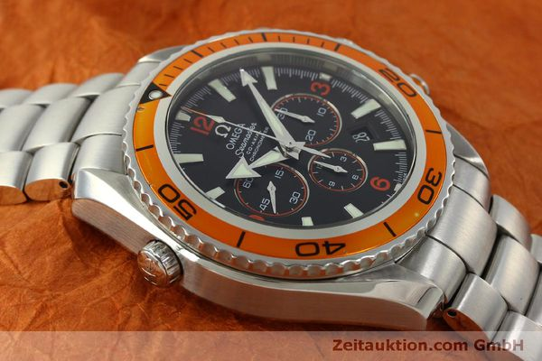 Used luxury watch Omega Seamaster chronograph steel automatic Kal. 3313 Ref. 22185000  | 151101 18