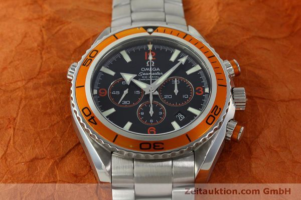 Used luxury watch Omega Seamaster chronograph steel automatic Kal. 3313 Ref. 22185000  | 151101 19