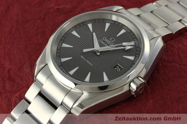 Used luxury watch Omega Seamaster steel quartz Kal. 4564 Ref. 23110396006001  | 151102 01
