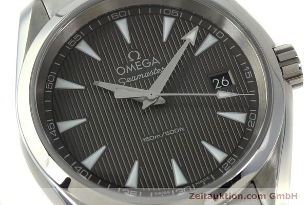 Used luxury watch Omega Seamaster steel quartz Kal. 4564 Ref. 23110396006001  | 151102 02
