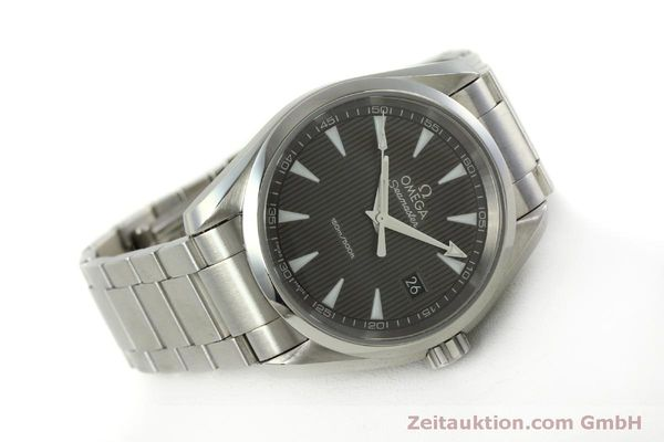 Used luxury watch Omega Seamaster steel quartz Kal. 4564 Ref. 23110396006001  | 151102 03