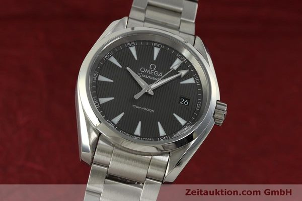 Used luxury watch Omega Seamaster steel quartz Kal. 4564 Ref. 23110396006001  | 151102 04