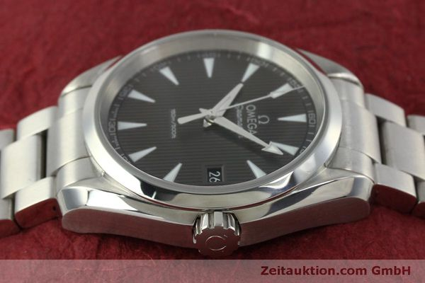Used luxury watch Omega Seamaster steel quartz Kal. 4564 Ref. 23110396006001  | 151102 05