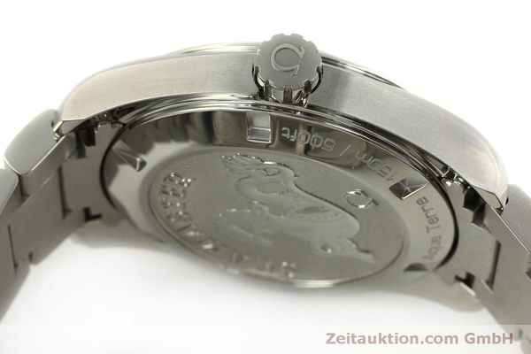 Used luxury watch Omega Seamaster steel quartz Kal. 4564 Ref. 23110396006001  | 151102 11