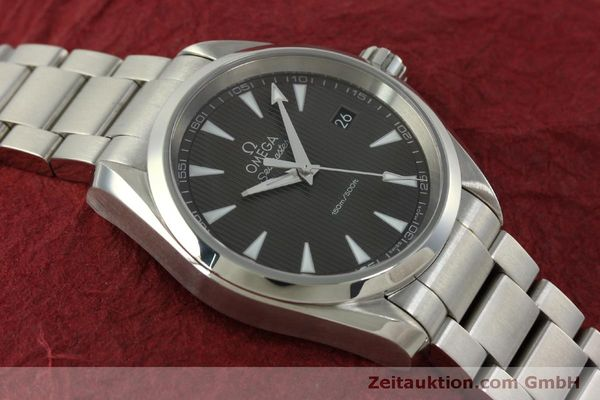 Used luxury watch Omega Seamaster steel quartz Kal. 4564 Ref. 23110396006001  | 151102 16