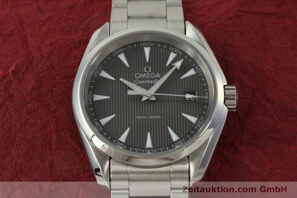 Used luxury watch Omega Seamaster steel quartz Kal. 4564 Ref. 23110396006001  | 151102 17