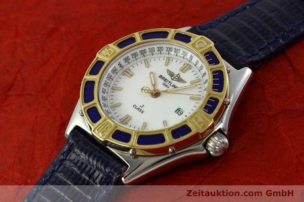Used luxury watch Breitling J-Class steel / gold quartz Kal. B52 ETA 956112 Ref. D52063  | 151107 01