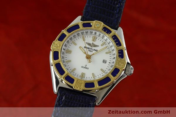 Used luxury watch Breitling J-Class steel / gold quartz Kal. B52 ETA 956112 Ref. D52063  | 151107 04