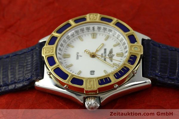 Used luxury watch Breitling J-Class steel / gold quartz Kal. B52 ETA 956112 Ref. D52063  | 151107 05