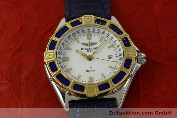 Used luxury watch Breitling J-Class steel / gold quartz Kal. B52 ETA 956112 Ref. D52063  | 151107 11