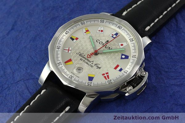 Used luxury watch Corum Admirals Cup steel automatic Kal. ETA 2824 Ref. 082.830.20  | 151110 01