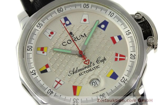 Used luxury watch Corum Admirals Cup steel automatic Kal. ETA 2824 Ref. 082.830.20  | 151110 02