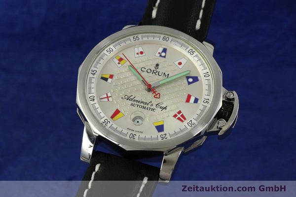 Used luxury watch Corum Admirals Cup steel automatic Kal. ETA 2824 Ref. 082.830.20  | 151110 04