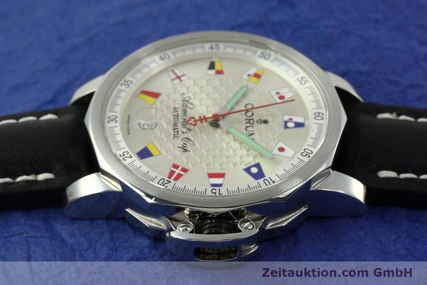 Used luxury watch Corum Admirals Cup steel automatic Kal. ETA 2824 Ref. 082.830.20  | 151110 05