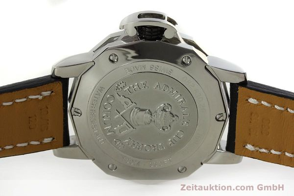Used luxury watch Corum Admirals Cup steel automatic Kal. ETA 2824 Ref. 082.830.20  | 151110 09