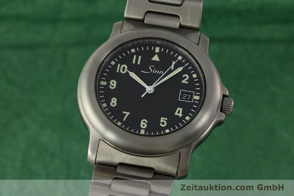 Used luxury watch Sinn 8828A titanium automatic Kal. ETA 2892A2  | 151121 04