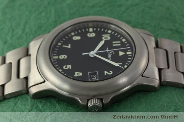 Used luxury watch Sinn 8828A titanium automatic Kal. ETA 2892A2  | 151121 05