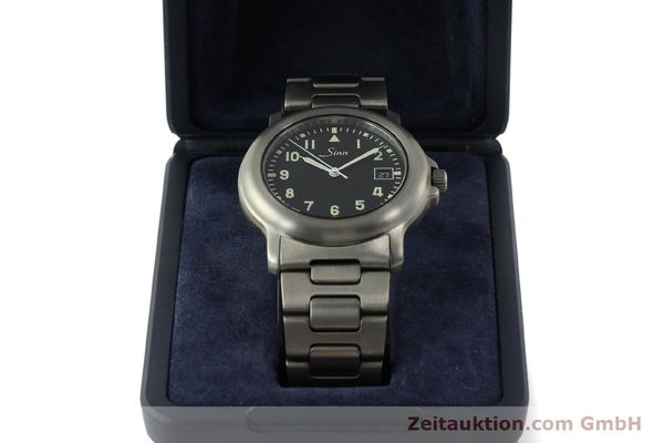 Used luxury watch Sinn 8828A titanium automatic Kal. ETA 2892A2  | 151121 07