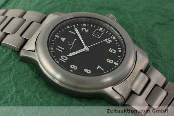 Used luxury watch Sinn 8828A titanium automatic Kal. ETA 2892A2  | 151121 16