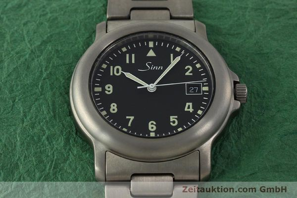 Used luxury watch Sinn 8828A titanium automatic Kal. ETA 2892A2  | 151121 17