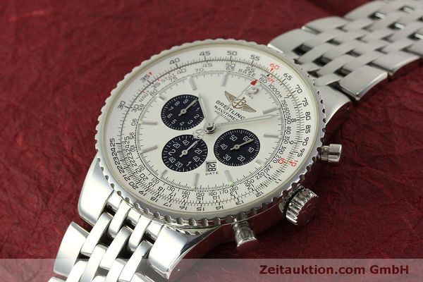 Used luxury watch Breitling Navitimer chronograph steel automatic Kal. B35 ETA 2892A2 Ref. A35340  | 151122 01
