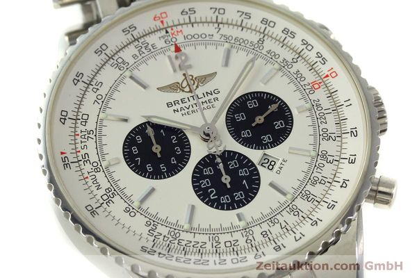 Used luxury watch Breitling Navitimer chronograph steel automatic Kal. B35 ETA 2892A2 Ref. A35340  | 151122 02