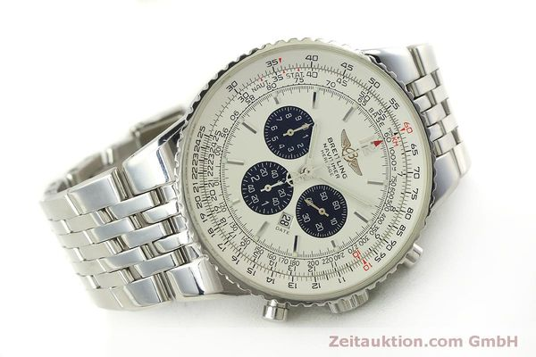 Used luxury watch Breitling Navitimer chronograph steel automatic Kal. B35 ETA 2892A2 Ref. A35340  | 151122 03