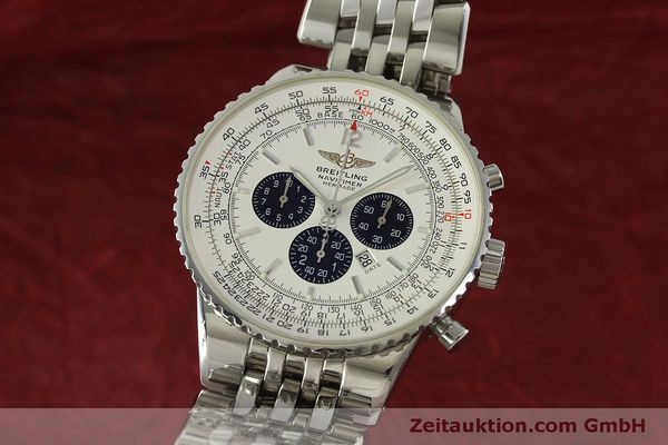 Used luxury watch Breitling Navitimer chronograph steel automatic Kal. B35 ETA 2892A2 Ref. A35340  | 151122 04