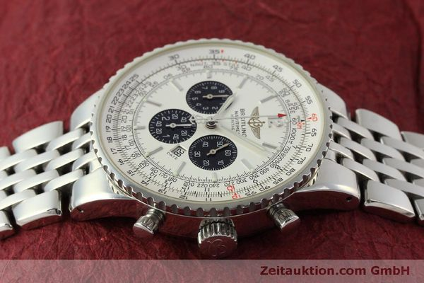 Used luxury watch Breitling Navitimer chronograph steel automatic Kal. B35 ETA 2892A2 Ref. A35340  | 151122 05