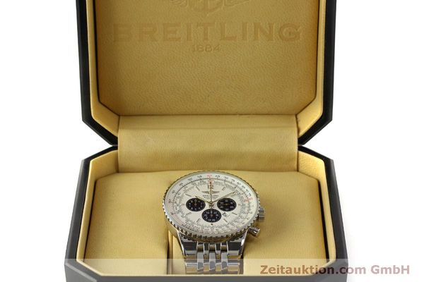 Used luxury watch Breitling Navitimer chronograph steel automatic Kal. B35 ETA 2892A2 Ref. A35340  | 151122 07