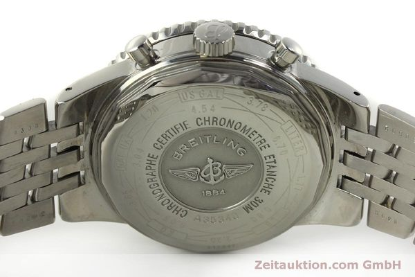 Used luxury watch Breitling Navitimer chronograph steel automatic Kal. B35 ETA 2892A2 Ref. A35340  | 151122 09