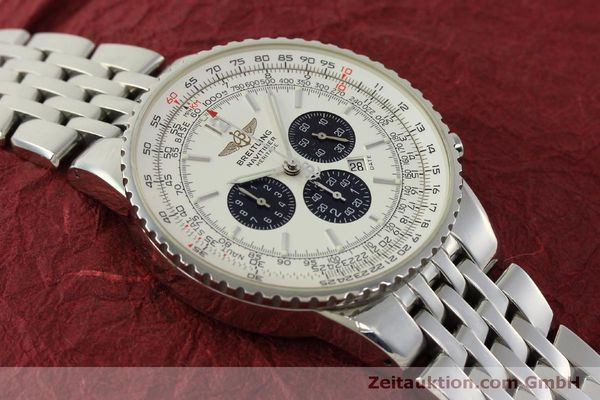 Used luxury watch Breitling Navitimer chronograph steel automatic Kal. B35 ETA 2892A2 Ref. A35340  | 151122 16