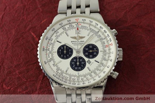 Used luxury watch Breitling Navitimer chronograph steel automatic Kal. B35 ETA 2892A2 Ref. A35340  | 151122 17
