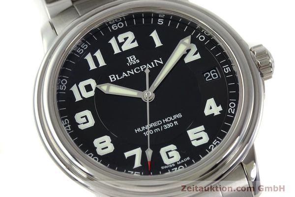 Used luxury watch Blancpain Leman steel automatic Kal. 1151 Ref. 2100-1130M  | 151123 02