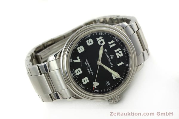 Used luxury watch Blancpain Leman steel automatic Kal. 1151 Ref. 2100-1130M  | 151123 03