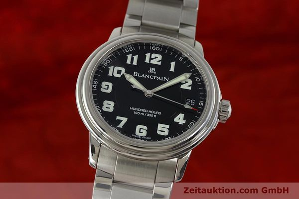 Used luxury watch Blancpain Leman steel automatic Kal. 1151 Ref. 2100-1130M  | 151123 04